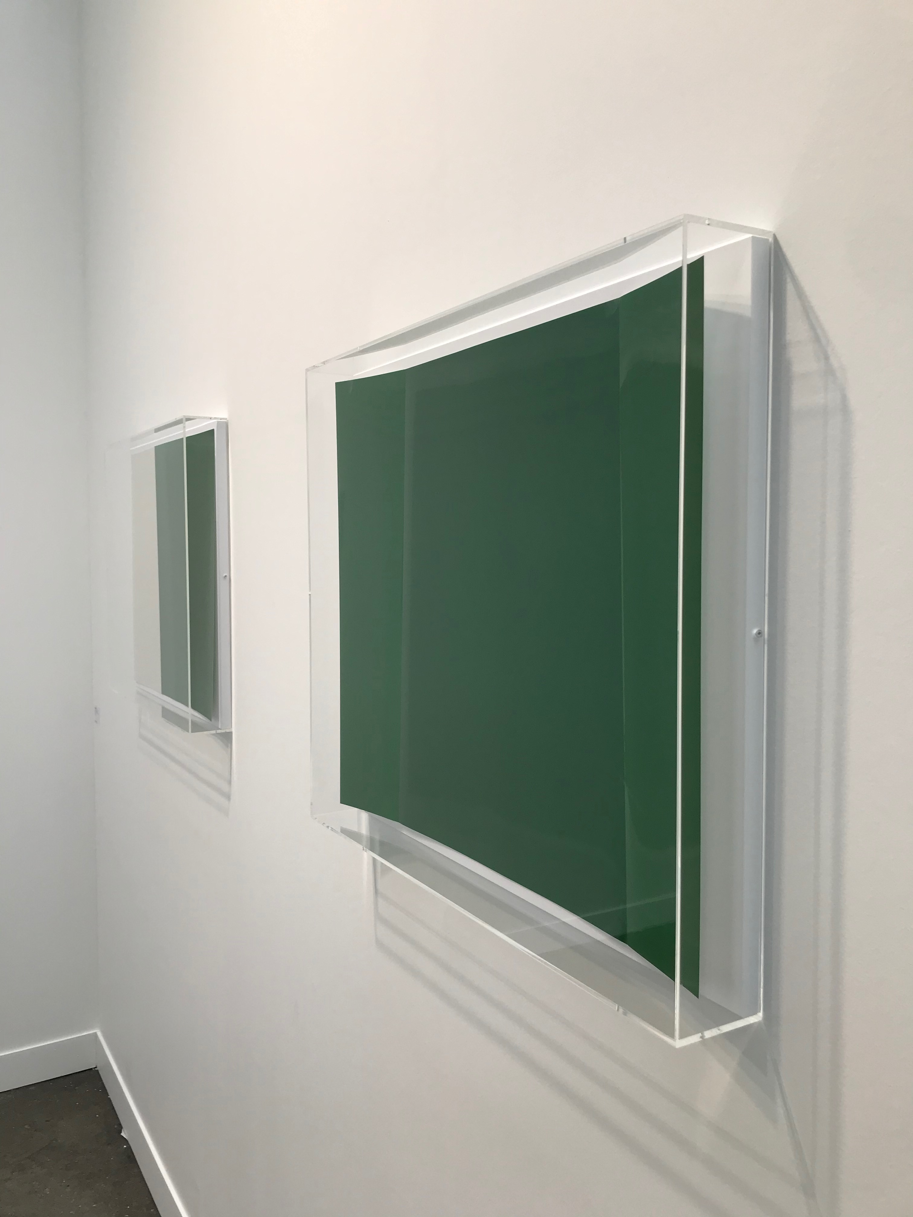 work by Wolfgang Tillmans shown by Galerie Buchholz