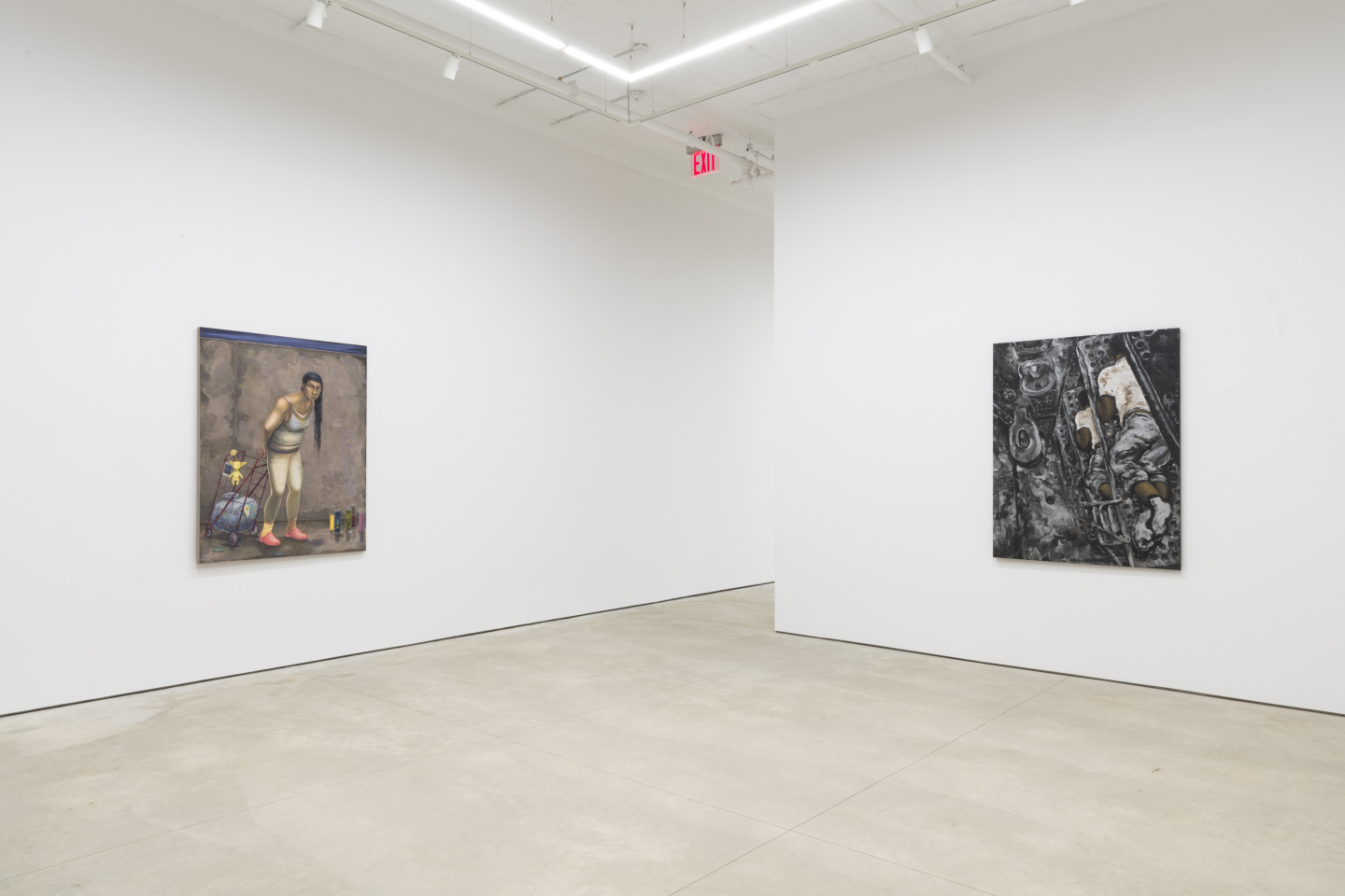 Courtesy of Aaron Gilbert, the Estate of Martin Wong, and P·P·O·W, New York