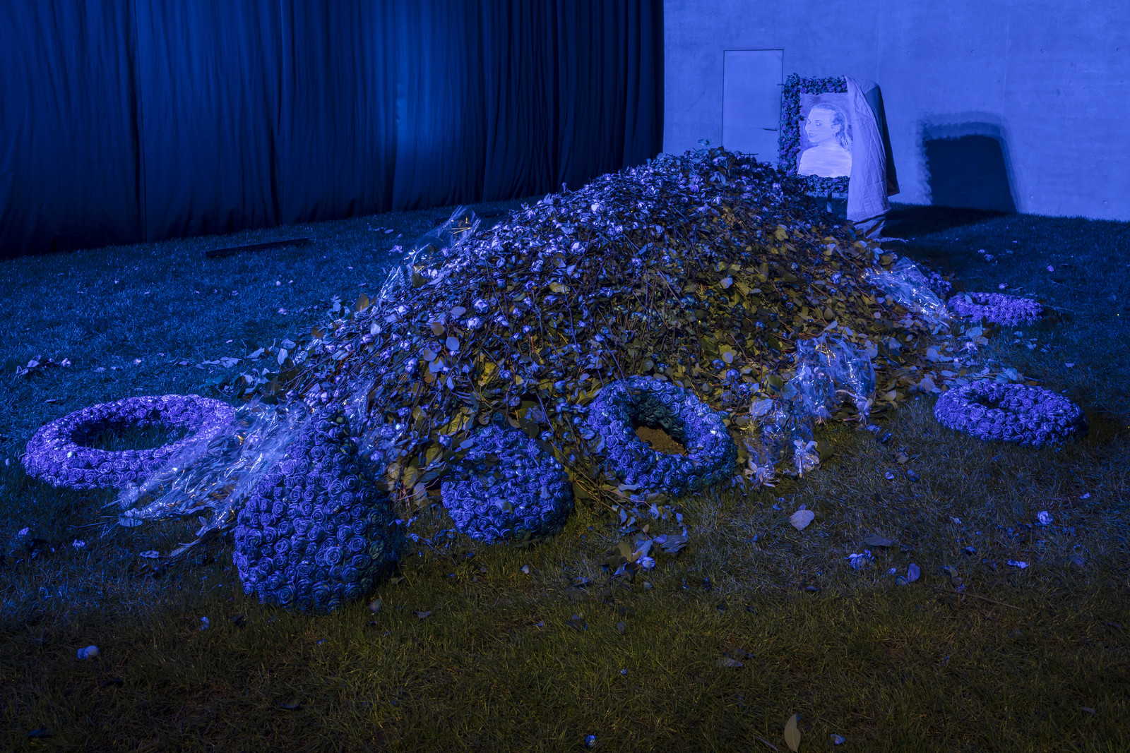 Memorial, 2020, installation view.