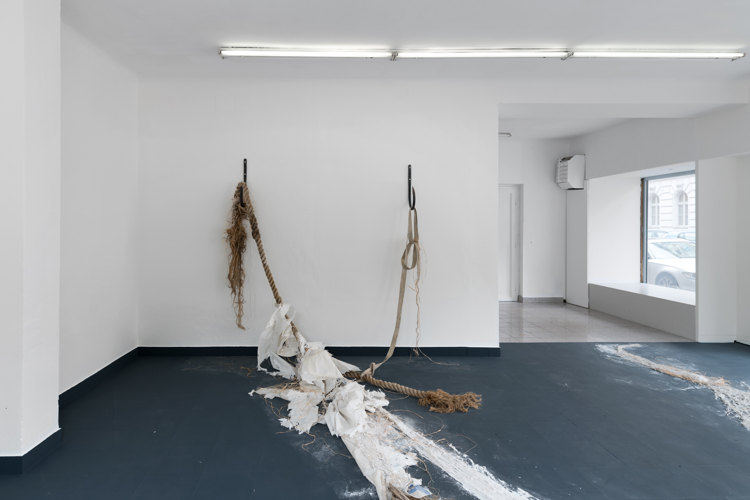Dominique White, Abandon(ed) Vessel, installation view