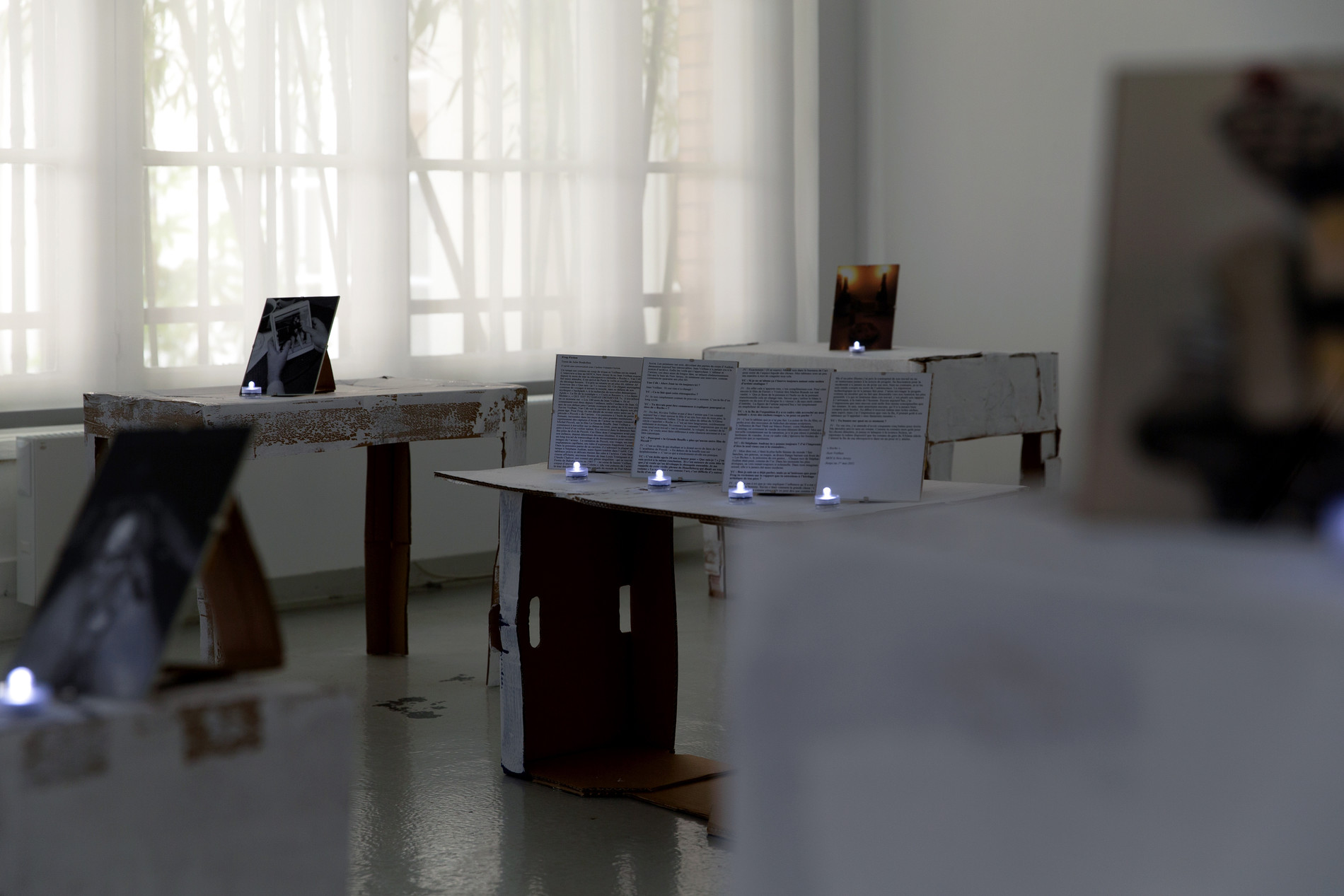 A Table for 50, installation view.