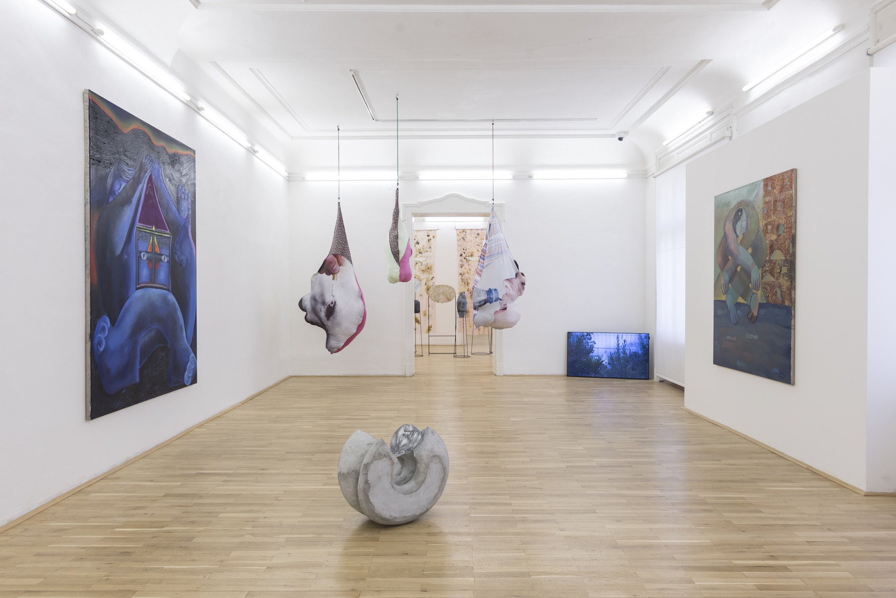 Antroporary, Installation View.