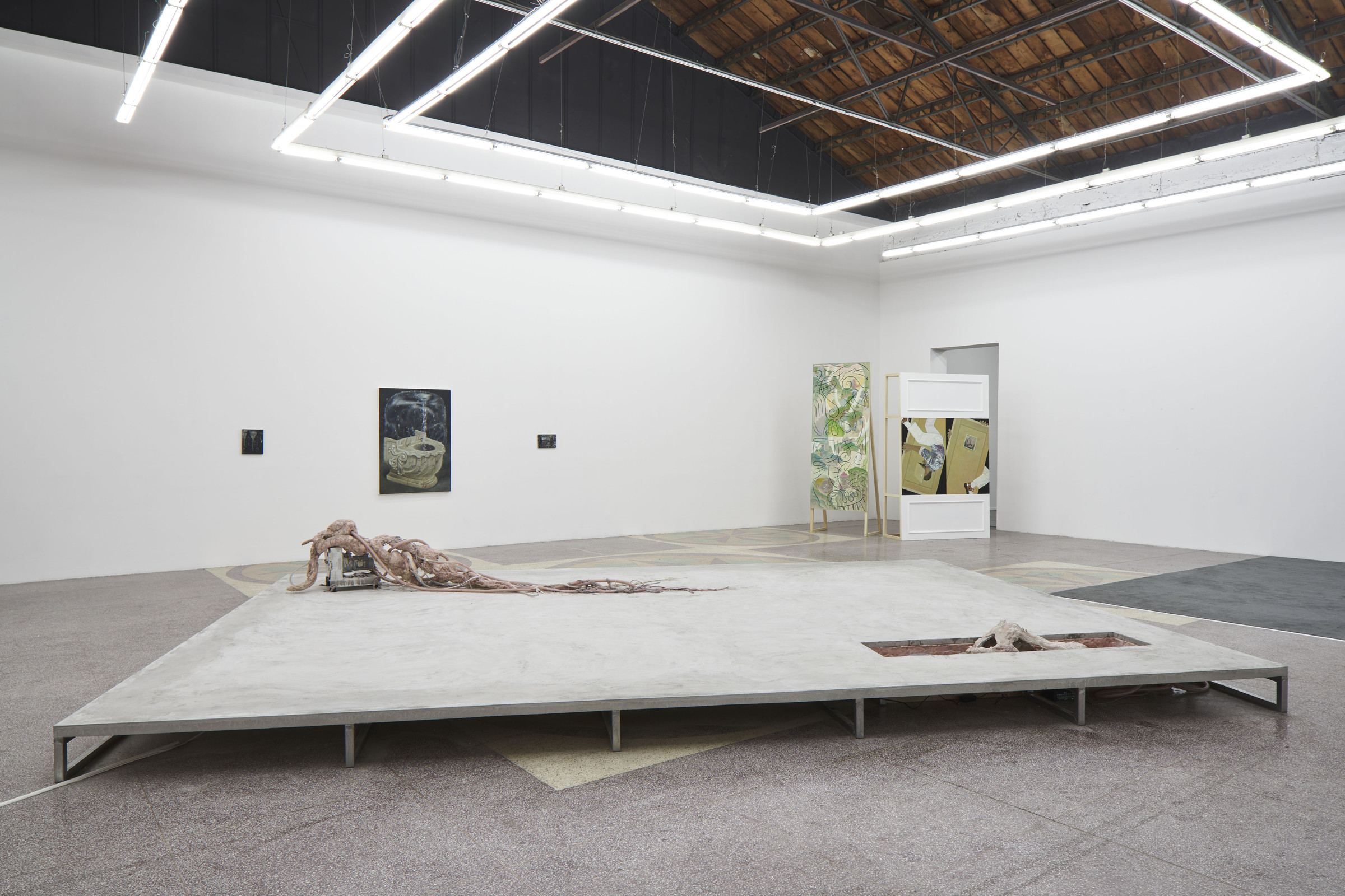 Breathing Through Skin, Installation View.