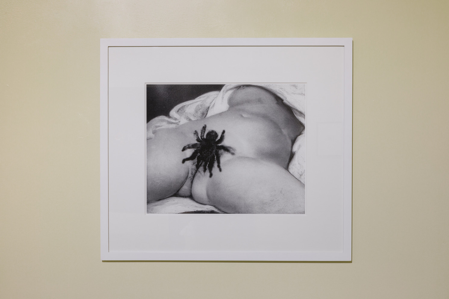 Rosemarie Trockel, Replace Me, 2009. Black and white digital print. Courtesy of the artist and Sprüth Magers.