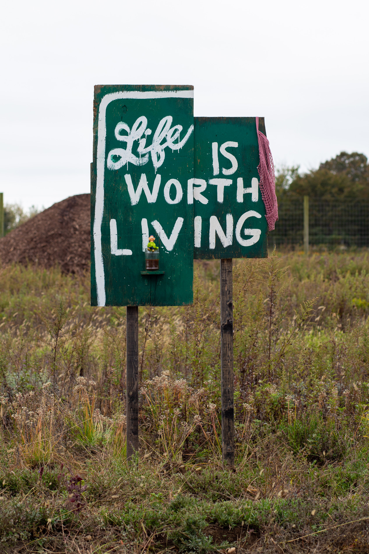 "Andrea McGinty, ""Life is Worth Living"", 2019."