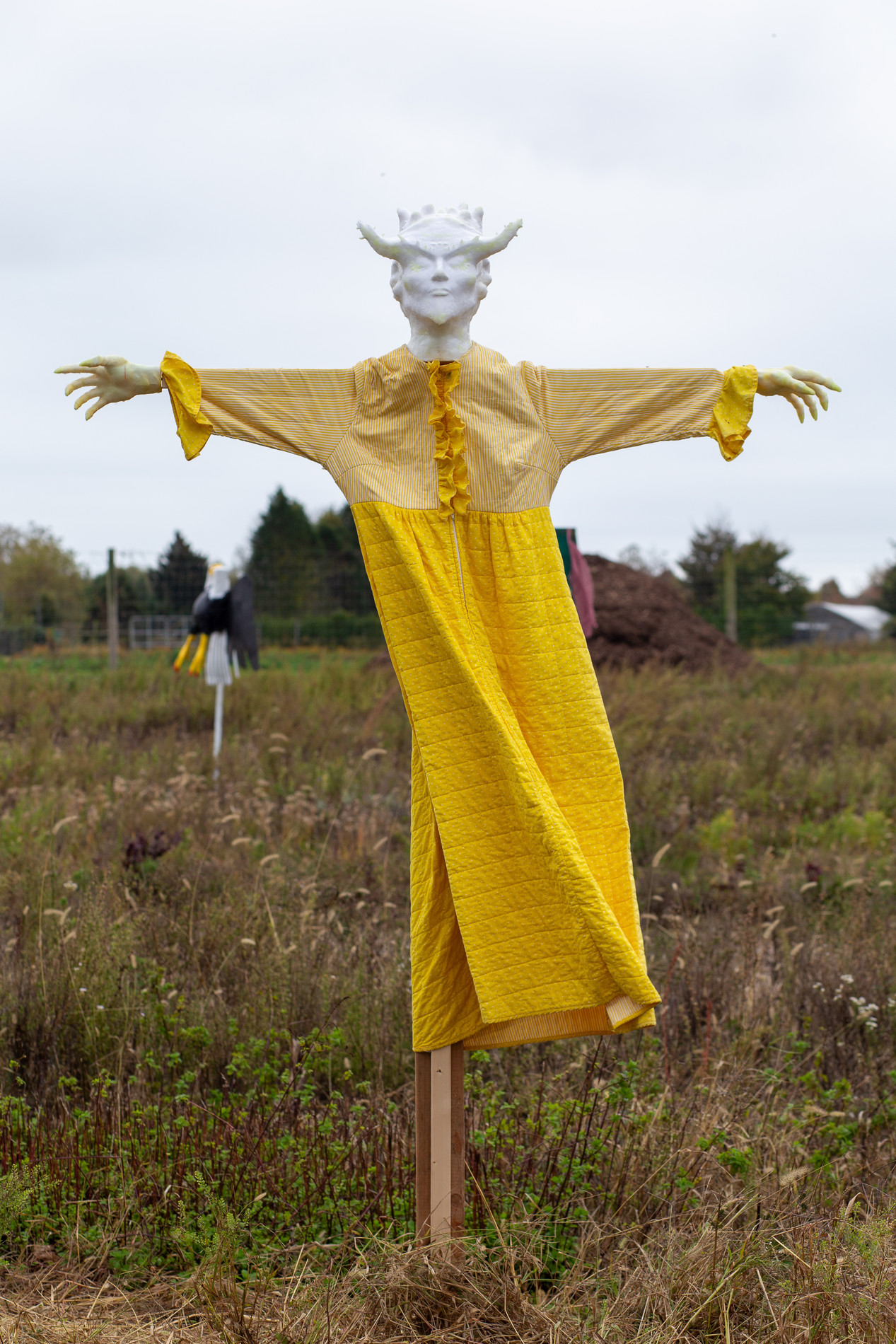 "Johnny Stanish + Loney Abrams, ""Scarecrow"", 2019."