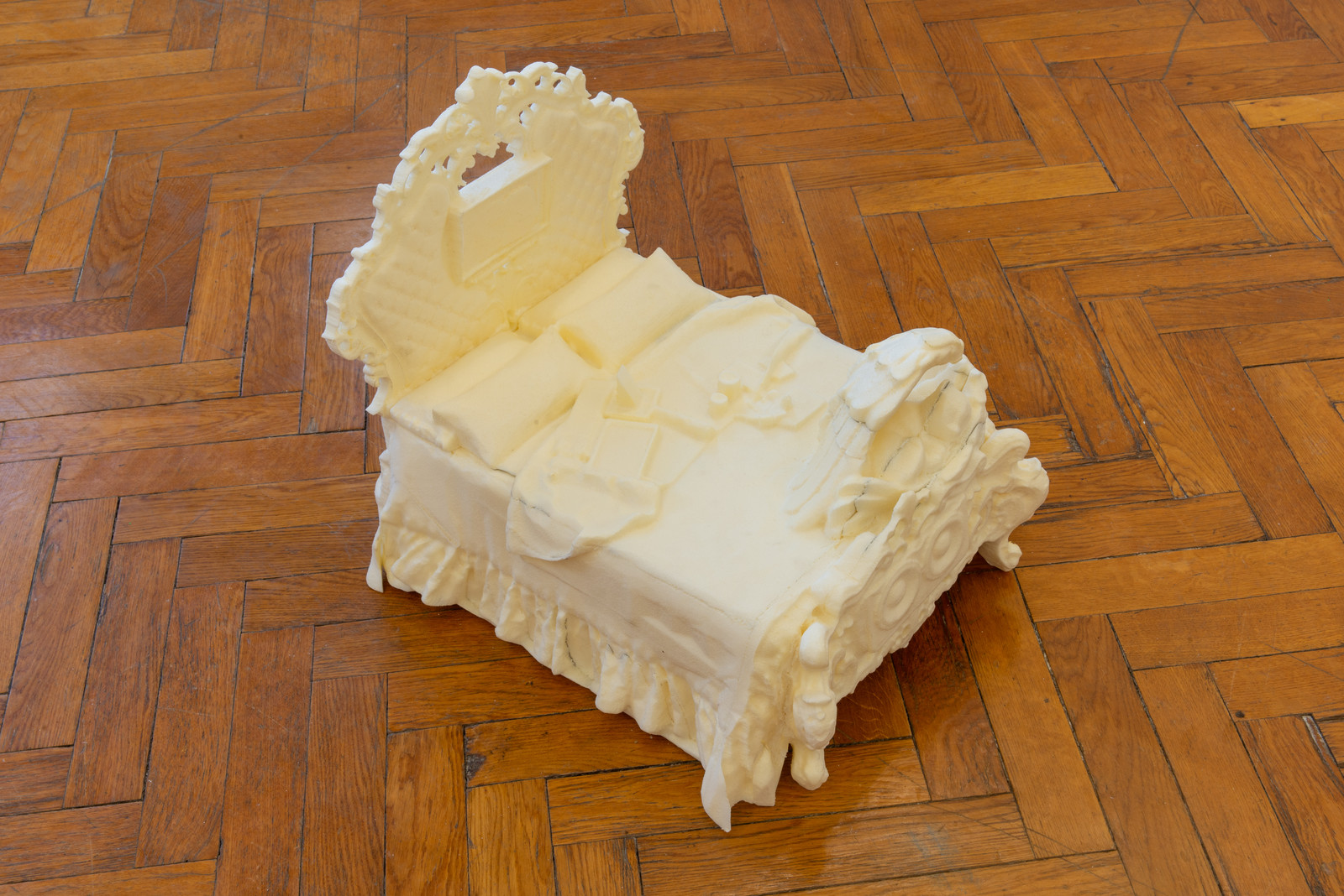Genevieve Goffman, Dreambed, Extra-Cloud Edition, (Tower and the City #5), 2020.