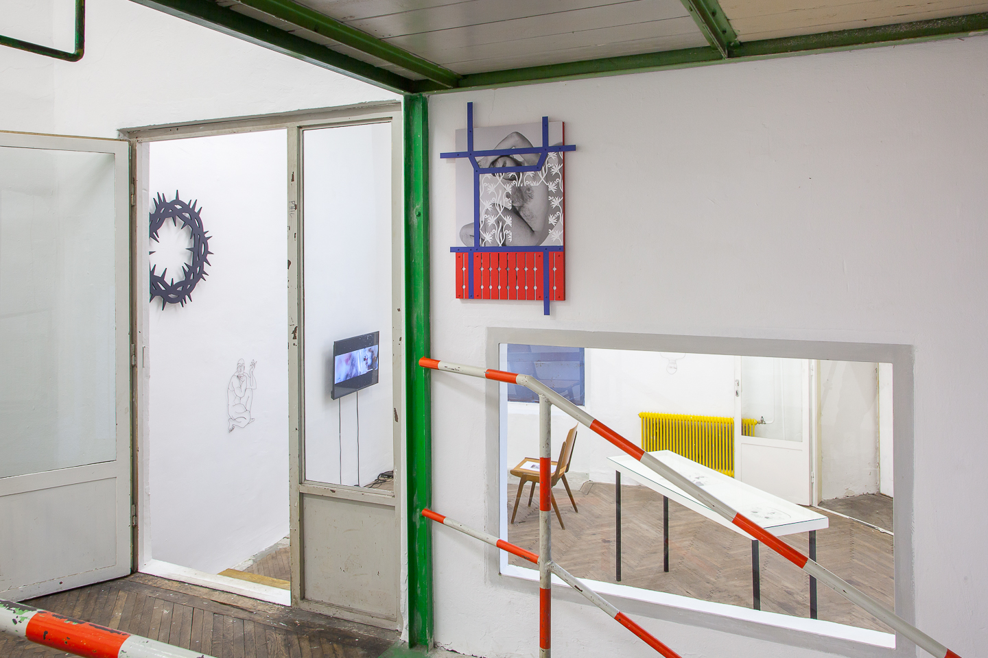 The Will To Change, Installation VIew.
