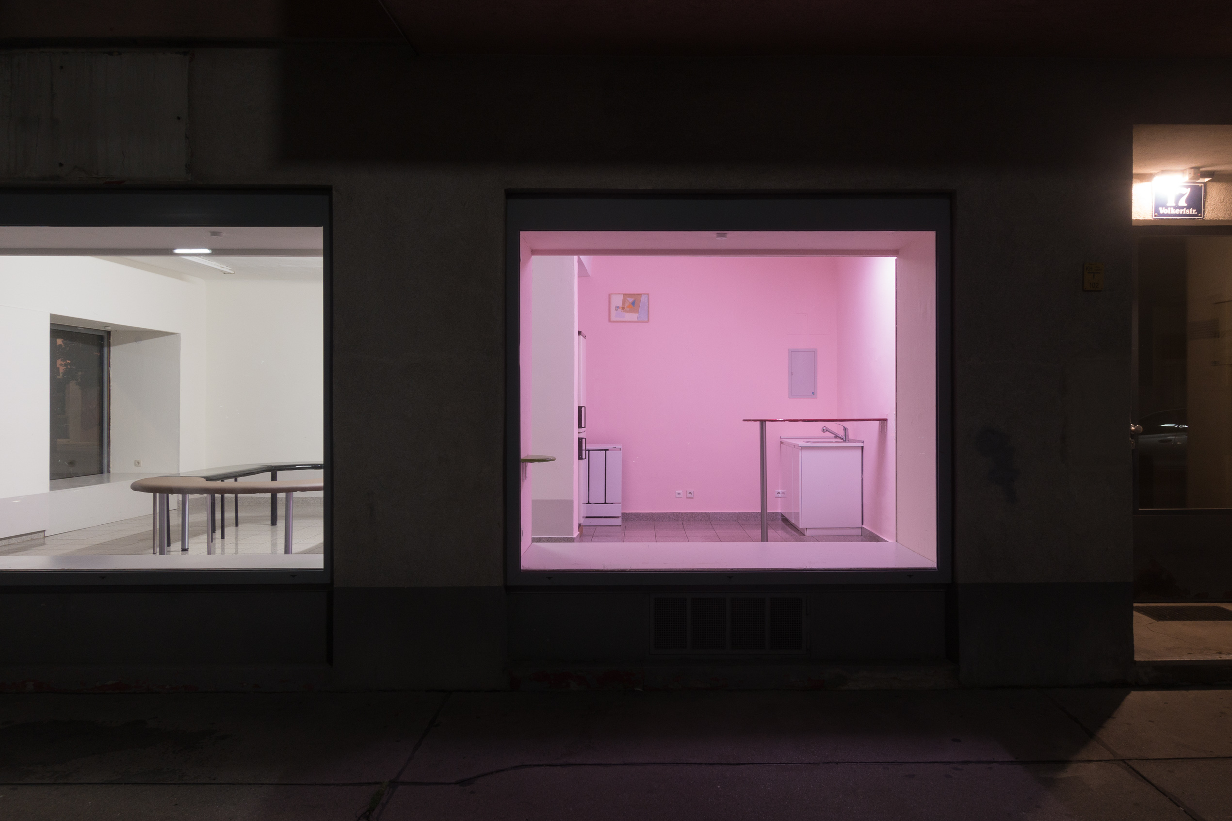 Parastu Gharabaghi, open the door close the window, installation view, Kevin Space 2019, Photo: Kevin Space